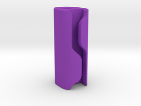 Pinball Spotlight Concealed Wire Post - 1 Inch in Purple Processed Versatile Plastic