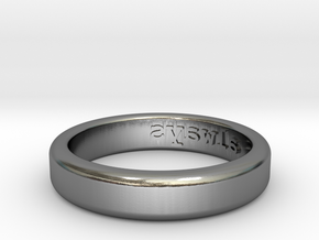 Always Ring - US Size 7.5 in Polished Silver