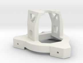 Effector for a single E3D V6 hotend in White Strong & Flexible