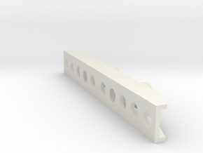 Willy Bumper in White Natural Versatile Plastic