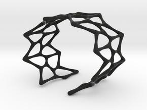 Bold Kershner Bracelet in Black Natural Versatile Plastic: Small