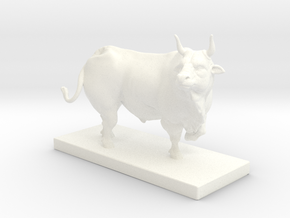 BullNEw in White Processed Versatile Plastic