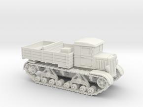 Voroshilovetz Tractor (15mm) in White Natural Versatile Plastic