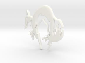 FOX in White Processed Versatile Plastic