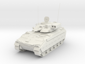 Armoured Personnel Carrier in White Natural Versatile Plastic