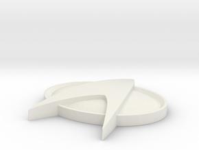 Star Trek Base Stand  II in White Natural Versatile Plastic