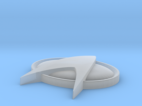 Star Trek Base Stand  II in Smooth Fine Detail Plastic