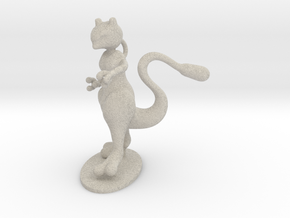 Mewtwo in Natural Sandstone