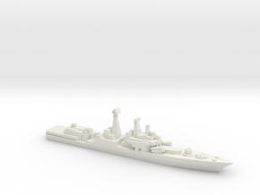 Udaloy II-class destroyer, 1/2400 in White Natural Versatile Plastic