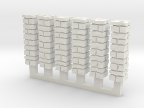 NvML25 Traditional walls kit in White Natural Versatile Plastic