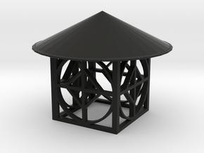 Lighting shadow creator in Black Natural Versatile Plastic