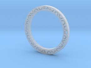Simple bracelet in Smooth Fine Detail Plastic