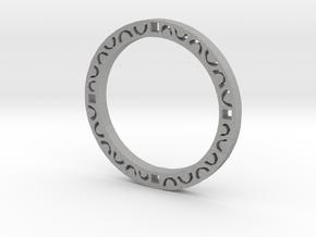 Simple bracelet in Raw Aluminum