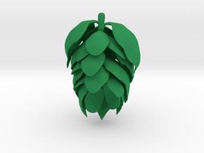 Hops3 in Green Processed Versatile Plastic