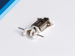 RX4 motor mount - Slot.it compatible in White Natural Versatile Plastic