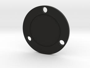 ESB Scope Mount Hoth Disk in Black Natural Versatile Plastic