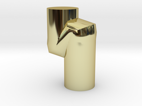 Model-232394d1656c97f9f36e6d7bc60092ca in 18k Gold Plated Brass
