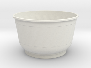 Cup Puttachai1 in White Strong & Flexible