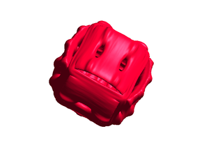 Ribcage Die - small in Red Processed Versatile Plastic
