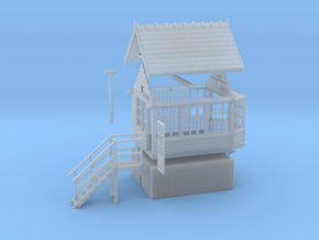 CO41 - Consall Signal box OO in Smooth Fine Detail Plastic
