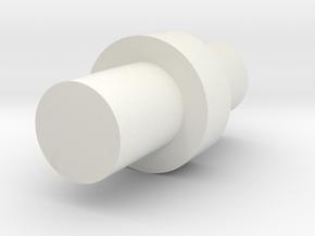 Hopup Adjustment Piece in White Natural Versatile Plastic