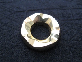 Ag Torch: Brass Tail Ring (4 of 4) in 14k Gold Plated