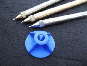 Stand: Exclusive Pen - Classic X in Blue Processed Versatile Plastic