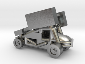 Stainless Sprint Car in Natural Silver