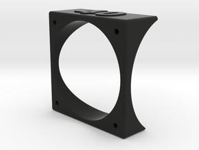 Motor Mount V3 in Black Natural Versatile Plastic