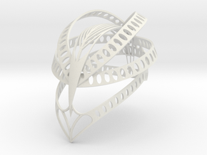 Condor Headpiece  in White Strong & Flexible