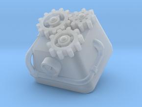 Topre Steampunk Keycap in Smooth Fine Detail Plastic