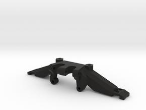 Axial SCX10 Axle Truss - Servo in Black Natural Versatile Plastic