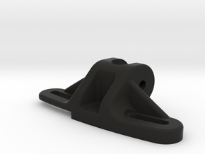 Axial SCX10 Panhard Chassis Mount in Black Strong & Flexible