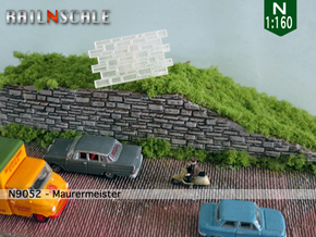 Maurermeister (N 1:160) in Smooth Fine Detail Plastic