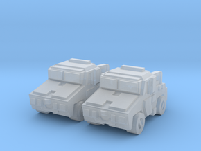 'Moose' Armored Car 6mm in Smooth Fine Detail Plastic