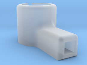 8.5mm Micro Motor Mount in Smooth Fine Detail Plastic