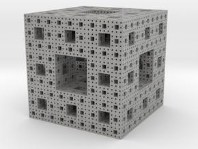 Sierpinski Cube in Aluminum