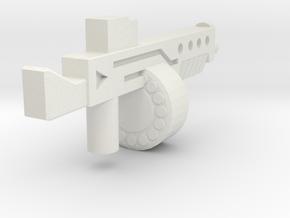 Auto12Blasterv2 in White Strong & Flexible