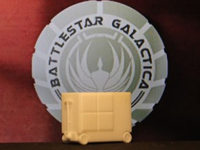 Pit Box, Toolbox (BSG-TRS, Galactiguise.com) in White Natural Versatile Plastic: 1:18