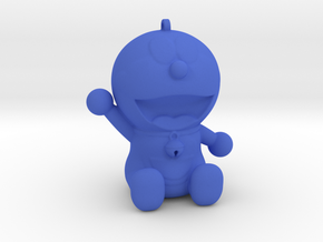 Doraemon 3D KeyChain & Pencil Cover in Blue Processed Versatile Plastic