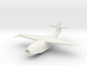 Saunders-Roe SR.A/1 in White Strong & Flexible: 1:200