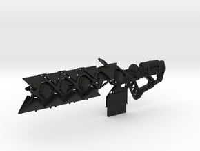Sleeper Simulant (1:6 Scale) in Black Natural Versatile Plastic