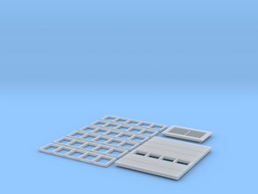 Industrial+Office Building FUD Parts in Smooth Fine Detail Plastic