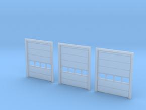 N Scale 3x Overhead Door #3 in Smooth Fine Detail Plastic