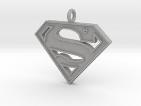 Superman Necklace in Aluminum