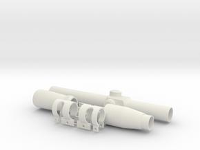 ESB & ROTJ EE-3 Scope in White Natural Versatile Plastic