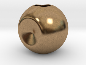 Spherify, Charms. Customizable in Natural Brass