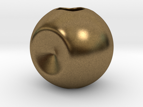 Spherify, Charms. Customizable in Natural Bronze