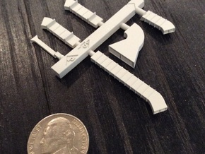 1:350 Scale Nimitz Class External Vents in Smooth Fine Detail Plastic