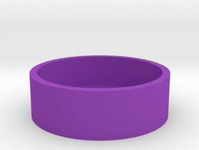 Okito Box Base USA Quarter in Purple Strong & Flexible Polished